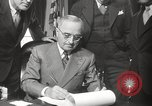 Image of President Harry Truman Washington DC USA, 1946, second 20 stock footage video 65675063704