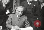 Image of President Harry Truman Washington DC USA, 1946, second 21 stock footage video 65675063704
