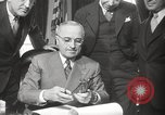 Image of President Harry Truman Washington DC USA, 1946, second 22 stock footage video 65675063704
