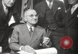 Image of President Harry Truman Washington DC USA, 1946, second 28 stock footage video 65675063704