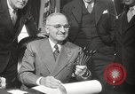 Image of President Harry Truman Washington DC USA, 1946, second 29 stock footage video 65675063704
