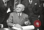 Image of President Harry Truman Washington DC USA, 1946, second 30 stock footage video 65675063704
