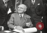 Image of President Harry Truman Washington DC USA, 1946, second 31 stock footage video 65675063704