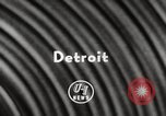 Image of National Football League Detroit Michigan USA, 1954, second 2 stock footage video 65675063707