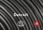 Image of National Football League Detroit Michigan USA, 1954, second 3 stock footage video 65675063707