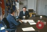 Image of President Richard Nixon Washington DC USA, 1971, second 6 stock footage video 65675063708