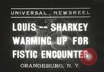 Image of Jack Sharkey Orangeburg New York USA, 1936, second 1 stock footage video 65675063711