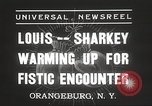 Image of Jack Sharkey Orangeburg New York USA, 1936, second 2 stock footage video 65675063711