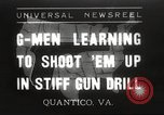 Image of Department of Justice agents Quantico Virginia USA, 1936, second 1 stock footage video 65675063712