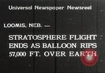 Image of Stratosphere balloon Explorer Rapid City South Dakota USA, 1934, second 1 stock footage video 65675063724