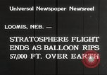 Image of Stratosphere balloon Explorer Rapid City South Dakota USA, 1934, second 4 stock footage video 65675063724