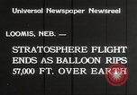 Image of Stratosphere balloon Explorer Rapid City South Dakota USA, 1934, second 5 stock footage video 65675063724