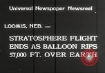 Image of Stratosphere balloon Explorer Rapid City South Dakota USA, 1934, second 9 stock footage video 65675063724