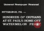 Image of United States orphans Pittsburgh Pennsylvania USA, 1934, second 2 stock footage video 65675063726