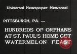 Image of United States orphans Pittsburgh Pennsylvania USA, 1934, second 3 stock footage video 65675063726
