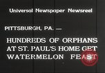 Image of United States orphans Pittsburgh Pennsylvania USA, 1934, second 8 stock footage video 65675063726