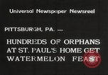 Image of United States orphans Pittsburgh Pennsylvania USA, 1934, second 10 stock footage video 65675063726