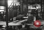 Image of Forging saw blades at Disston Saw works factory Philadelphia Pennsvlvania USA, 1920, second 4 stock footage video 65675063729