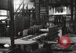 Image of Forging saw blades at Disston Saw works factory Philadelphia Pennsvlvania USA, 1920, second 10 stock footage video 65675063729
