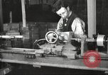 Image of Manufacture of Browning Automatic Rifles in the U.S.A. New Haven Connecticut. United States USA, 1918, second 3 stock footage video 65675063743