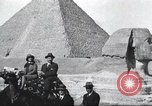 Image of tourists visit Egypt, 1927, second 4 stock footage video 65675063760