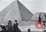 Image of tourists visit Egypt, 1927, second 6 stock footage video 65675063760