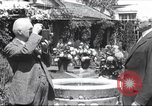Image of George Eastman Kodacolor garden party Rochester New York United States USA, 1928, second 1 stock footage video 65675063763