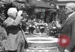Image of George Eastman Kodacolor garden party Rochester New York United States USA, 1928, second 2 stock footage video 65675063763