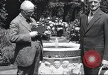 Image of George Eastman Kodacolor garden party Rochester New York United States USA, 1928, second 10 stock footage video 65675063763
