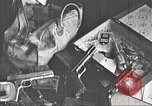 Image of Items in car of Clyde Barrow and Bonnie Parker Arcadia Louisiana USA, 1934, second 2 stock footage video 65675063769