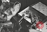 Image of Items in car of Clyde Barrow and Bonnie Parker Arcadia Louisiana USA, 1934, second 4 stock footage video 65675063769