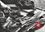 Image of Items in car of Clyde Barrow and Bonnie Parker Arcadia Louisiana USA, 1934, second 11 stock footage video 65675063769