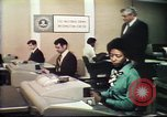 Image of Federal Bureau of Investigation fingerprint analysis Washington DC USA, 1977, second 3 stock footage video 65675063776