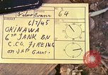 Image of 6th Tank Battalion Naha Okinawa Ryukyu Islands, 1945, second 6 stock footage video 65675063826