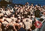Image of USS Gunston Hall Pacific Ocean, 1944, second 6 stock footage video 65675063839
