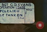 Image of 1st Tank Battalion Peleliu Palau Islands, 1944, second 3 stock footage video 65675063840