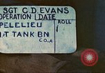 Image of 1st Tank Battalion Peleliu Palau Islands, 1944, second 5 stock footage video 65675063840