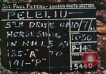 Image of 1st Tank Battalion Peleliu Palau Islands, 1944, second 3 stock footage video 65675063843