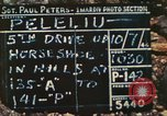 Image of 1st Tank Battalion Peleliu Palau Islands, 1944, second 5 stock footage video 65675063843