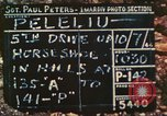 Image of 1st Tank Battalion Peleliu Palau Islands, 1944, second 6 stock footage video 65675063843