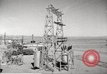 Image of Operation Cue electrical transmission tower in blast Nevada United States USA, 1955, second 6 stock footage video 65675063897