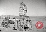 Image of Operation Cue electrical transmission tower in blast Nevada United States USA, 1955, second 8 stock footage video 65675063897