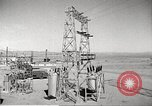 Image of Operation Cue electrical transmission tower in blast Nevada United States USA, 1955, second 12 stock footage video 65675063897