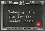 Image of workers fell trees United States USA, 1922, second 3 stock footage video 65675063922