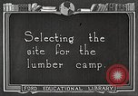 Image of workers fell trees United States USA, 1922, second 5 stock footage video 65675063922