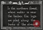 Image of lumber industry United States USA, 1922, second 1 stock footage video 65675063924