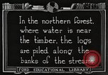 Image of lumber industry United States USA, 1922, second 2 stock footage video 65675063924