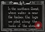 Image of lumber industry United States USA, 1922, second 3 stock footage video 65675063924