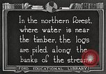 Image of lumber industry United States USA, 1922, second 4 stock footage video 65675063924