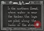 Image of lumber industry United States USA, 1922, second 5 stock footage video 65675063924